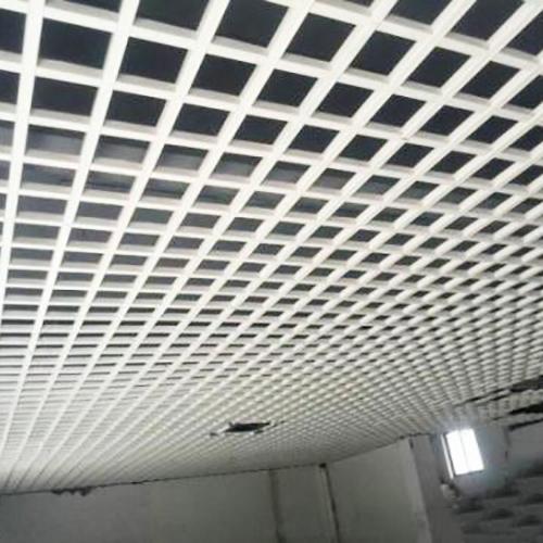 条形铝格栅