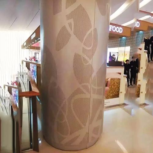 商场包柱铝单板