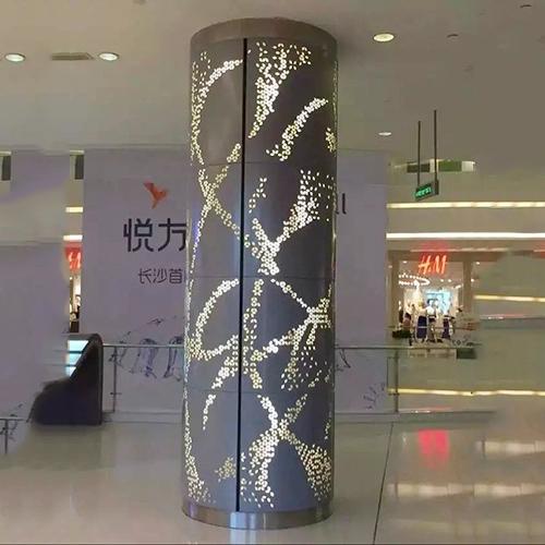 惠州圆形包柱铝单板