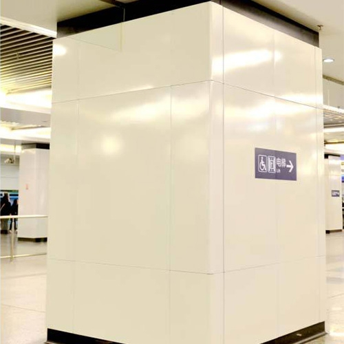 惠州方形包柱铝单板
