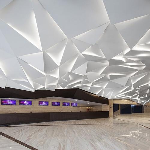 造型铝单板吊顶