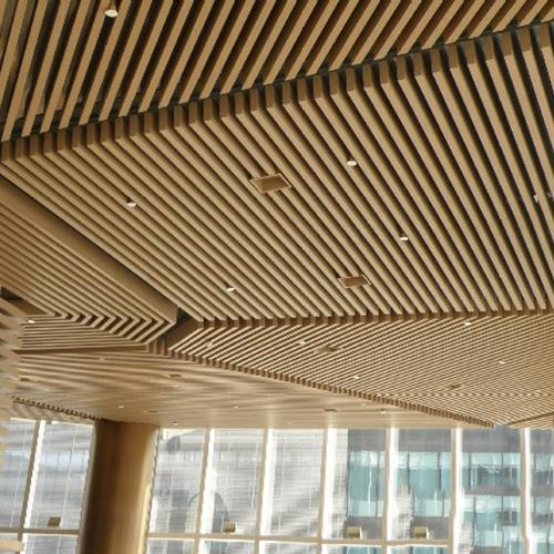 吊顶铝方通
