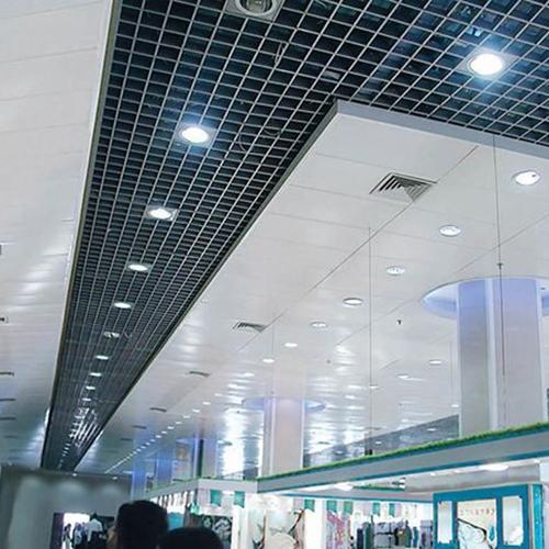 惠州铝格栅天花