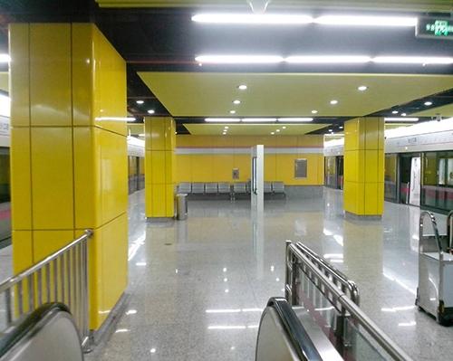 地铁站铝单板包柱